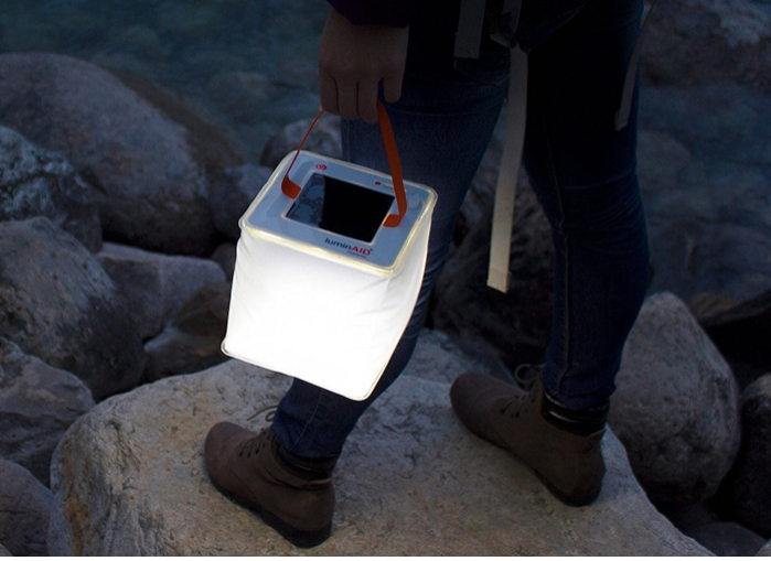 Travel Gadget: LuminAID 2-in-1 Solar Phone Charger and Lantern