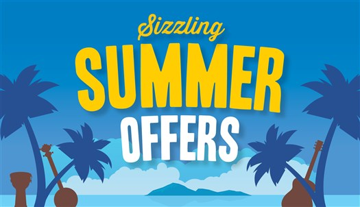Five Star Deals: Sizzling Summer Savings