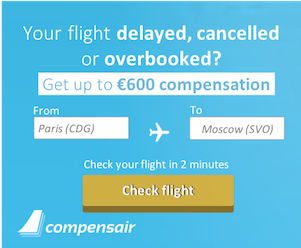Travel Plans: Get Compensation from Compensair